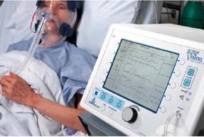 v pap breathing machine