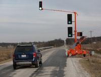 portable traffic signal rental