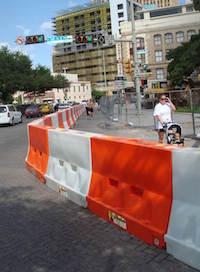 traffic wall rentals