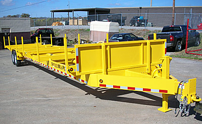 stick pipe trailer rental