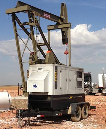 oilfield generator rentals
