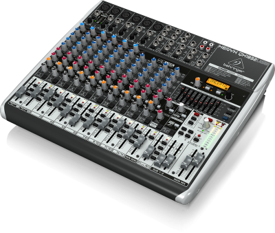 Behringer qx1832 rental for A b mackie salon